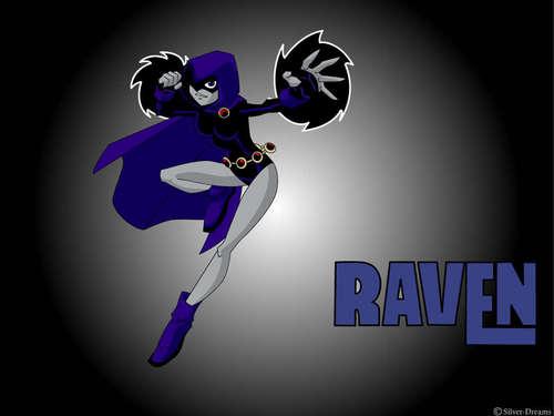 Los Jóvenes Titanes fondo de pantalla titled Raven