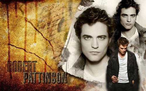 Robert Pattinson karatasi la kupamba ukuta