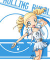 Rolling Bubbles - powerpuff-girls-z fan art