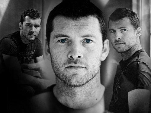 Sam Worthington hình nền entitled Sam ^^