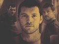 Sam ^^ - sam-worthington wallpaper