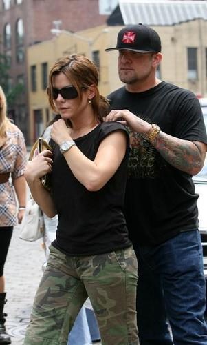 Sandra Bullock & Jesse James Spending Time Together In New York