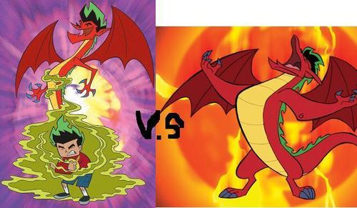 American Dragon: Jake Long hình nền titled Season 1 VS Season 2