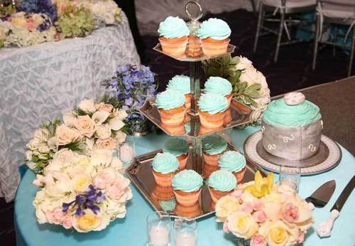 Seria's Pretty Turquoise Wedding