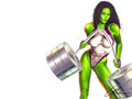 She Hulk - femme-fatales wallpaper