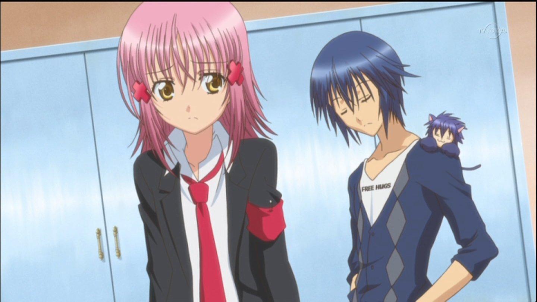 Hinamori Amu and Ikuto Tsukiyomi