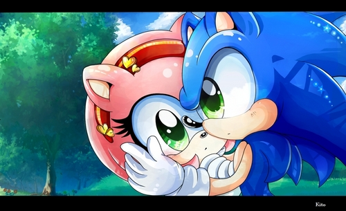 SonAmy; Keep Me নিরাপদ