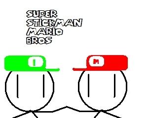 Super Stickman mario bros