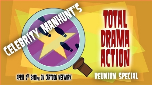 TOTAL DRAMA ACTION CELEBRITY MANHUNT