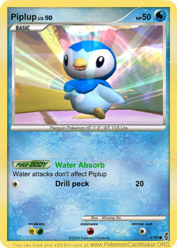 Team Rocket Strikes Back: Piplup