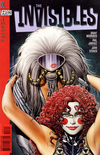 The Invisibles Vol. 2 Cover
