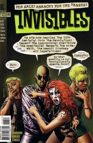 The Invisibles Vol. 2 Cover