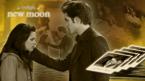 "Wallpaper ""bella and edward"" - twilight-movie Wallpaper"