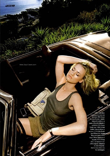Yvonne Strahovski in the April 2010 Issue of Gala Magazine (France)