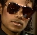 close of camera - michael-jackson photo
