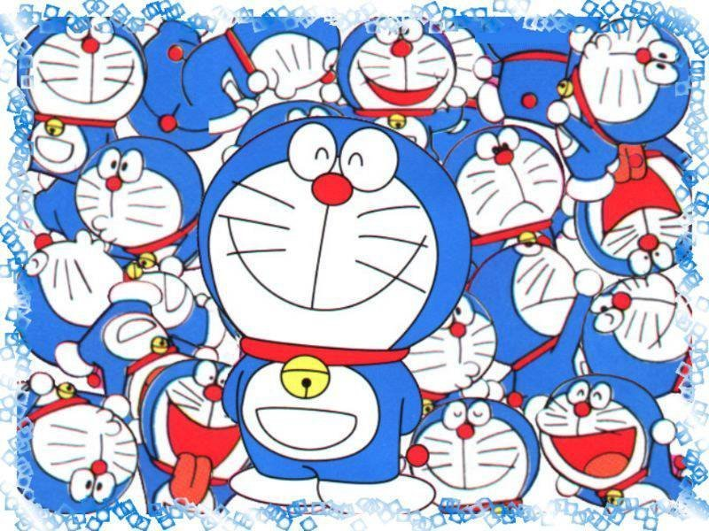 doraemon wallpaper. doraemon family