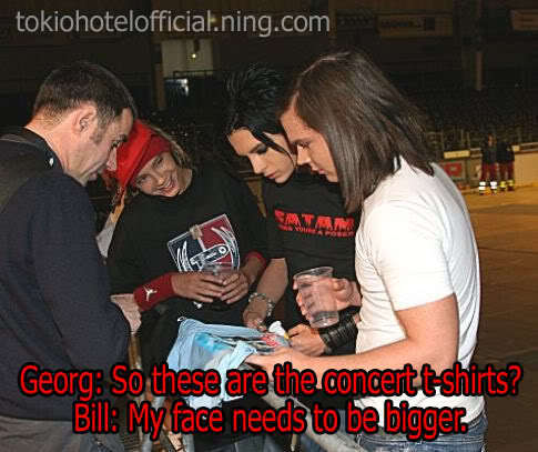 Bill Kaulitz fond d'écran called funny!
