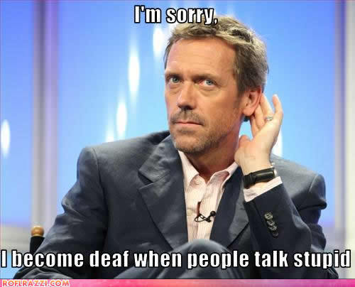 Hugh Laurie wallpaper entitled hugh is funny!