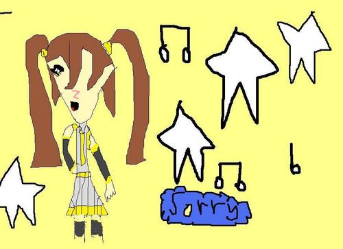 im sorry cliky her is a pick of her in vocaloid