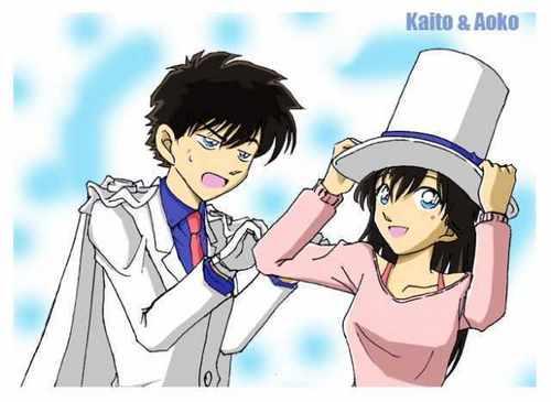 kaito and aoko ^^