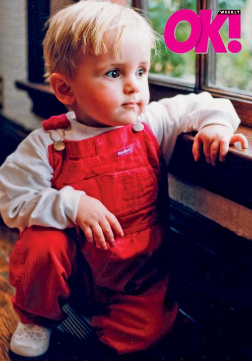 prince & paris baby picture