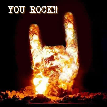 rock on !