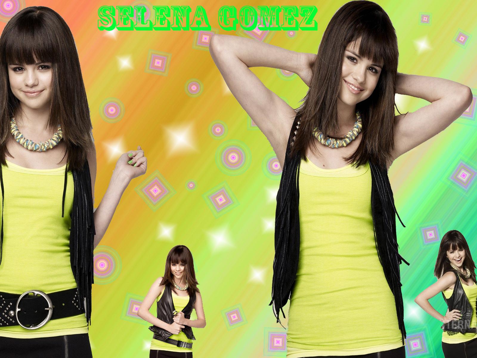 selena by dj!!!!!!!!!! - selena-gomez wallpaper