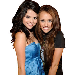Miley Cyrus vs. Selena Gomez 壁纸 called shinee