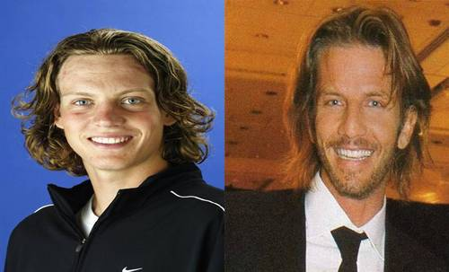 tomas berdych and facundo arana twins look - hottest-actors Photo