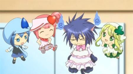 yoru dressed in a cute dress :D