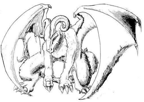 (Edited) Horn Dragon