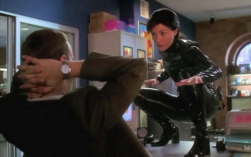 "NCIS wallpaper entitled ""You're a naughty boy Timmy"" Kate the Super Hero"