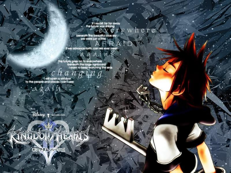 Kingdom Hearts II Wallpaper at