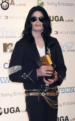 Michael Jackson wallpaper titled 2006 Japan MTV Video Music Awards / Press Room