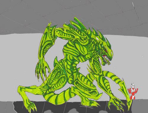 Alien Drago Hybrid