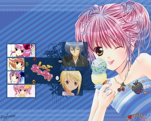 Shugo Chara wallpaper titled Amu and ...  Tadase and Ikuto