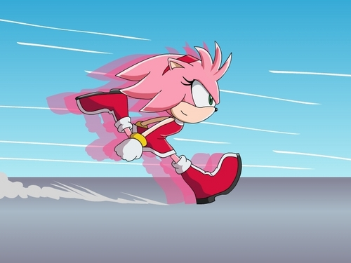 Amy Sonic Speed