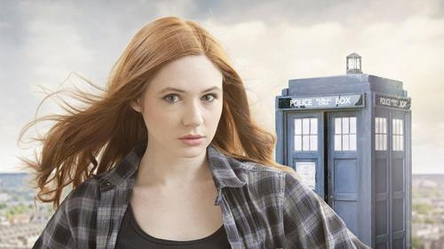 Amy Pond پیپر وال titled Amy