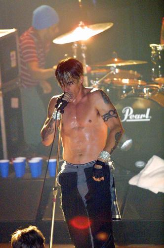 Anthony Kiedis Californication tour