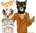Ash and Mr Fox - fantastic-mr-fox fan art