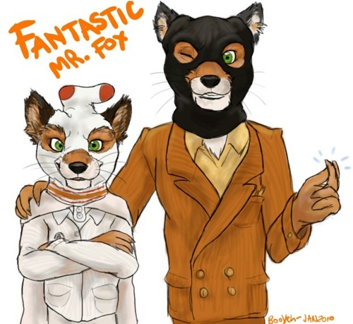 Ash and Mr fox