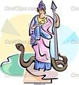 Athena - greek-mythology fan art