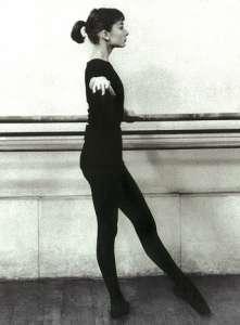 Audrey dancing