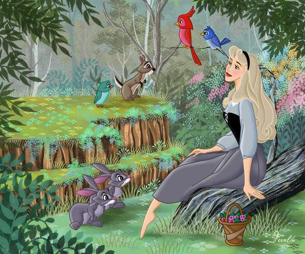 Aurora and her Friends