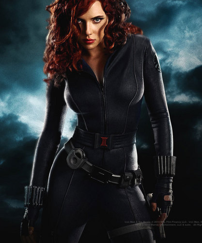 Iron Man wallpaper titled Black Widow