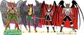 Blackest Night: Hawkman & Hawkgirl as Black Lanterns