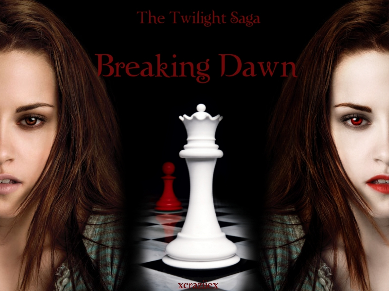 Breaking Dawn - Two sides of Bella - twilight-series wallpaper