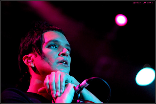 Brian Molko wallpaper titled Brian 4got his lube in my place...oooops!