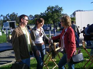Cast behind the scenes