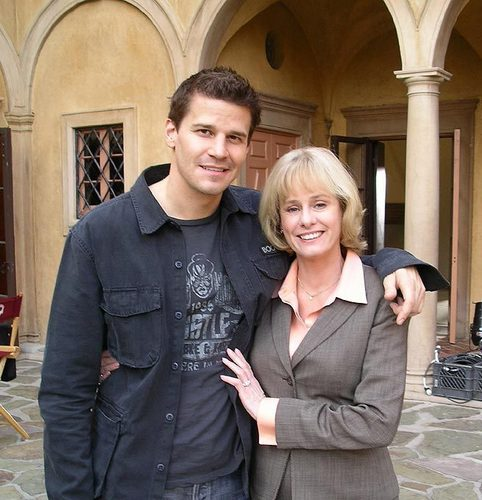 Cast with Kathy Reichs